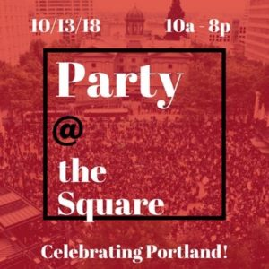 Party at the Square @ Pioneer Courthouse Square | Portland | Oregon | United States