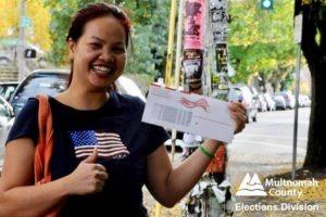 November General Election Ballot Box @ Pioneer Courthouse Square | Portland | Oregon | United States