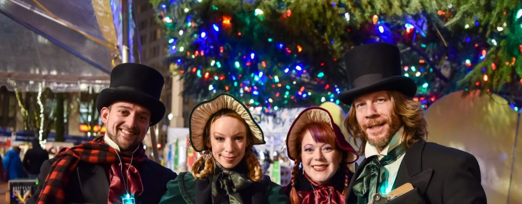 Holidays on the Mall | The Dickens Carolers @ Portland | Oregon | United States