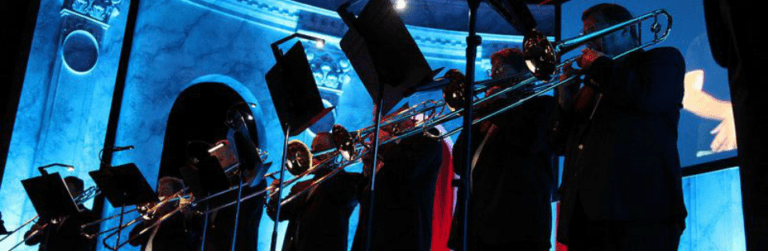 Holidays on the Mall | Rose City Trombones @ Apple Store | Portland | Oregon | United States