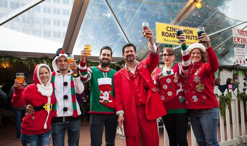 23rd Annual Holiday Ale Festival @ Pioneer Courthouse Square | Portland | Oregon | United States