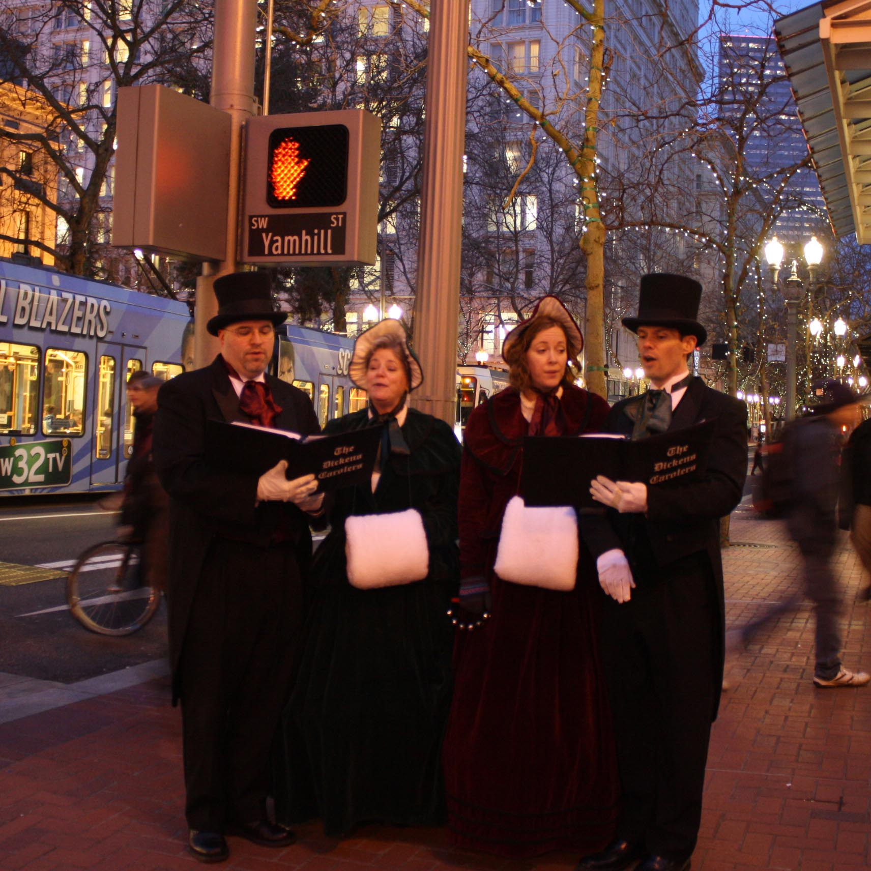 The Great Figgy Pudding Caroling Competition