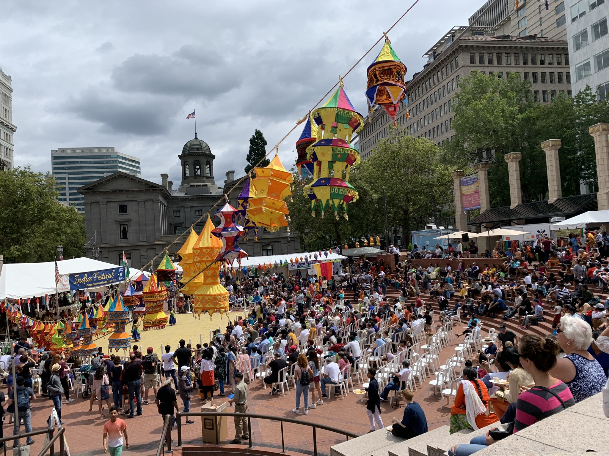 4 Cultural Festivals Visit Pioneer Courthouse Square In August