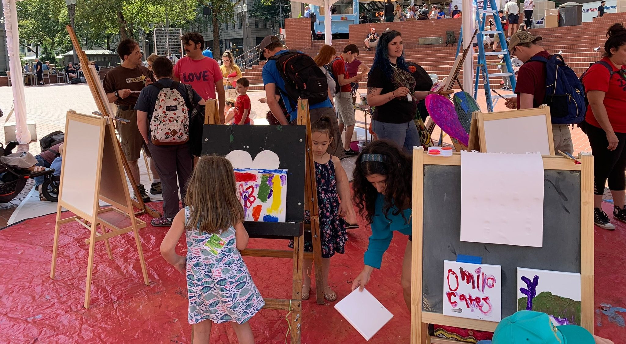 Buy A Brick to Support The Square's Artist Fund!