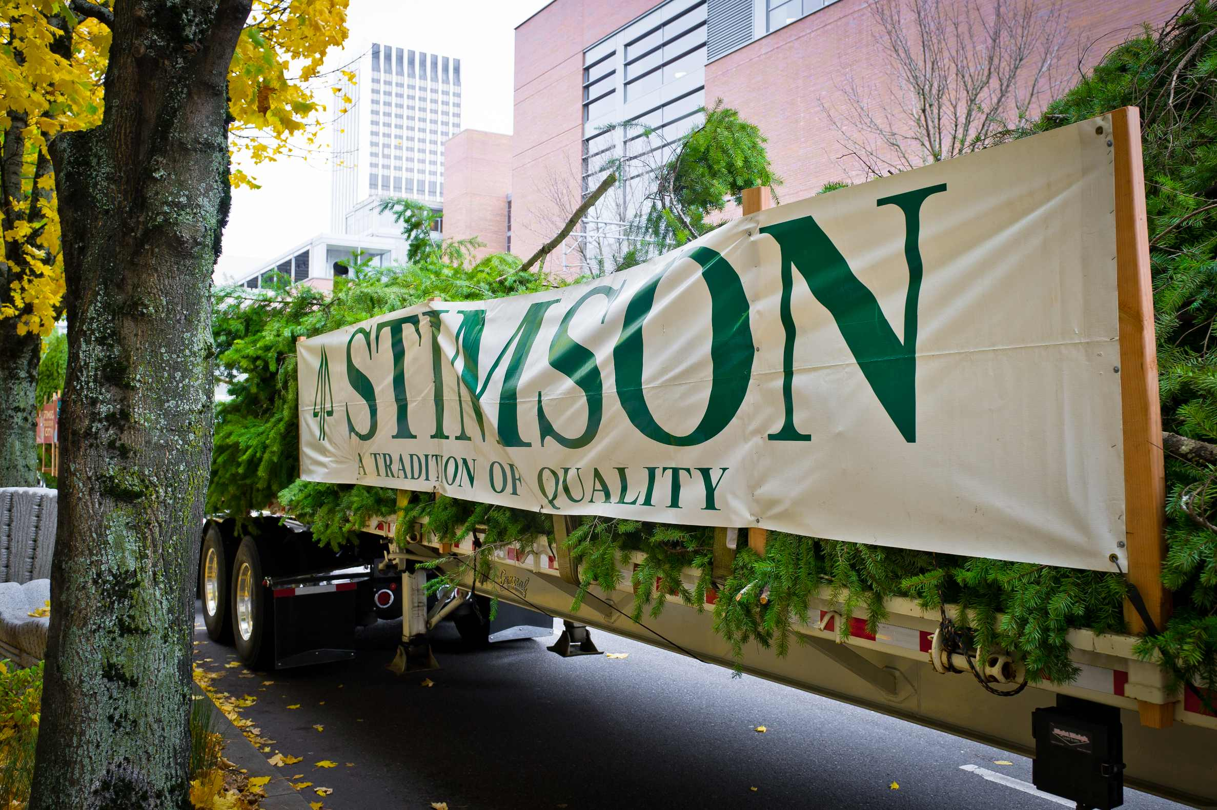 Stimson Lumber Company's Donation Continues!
