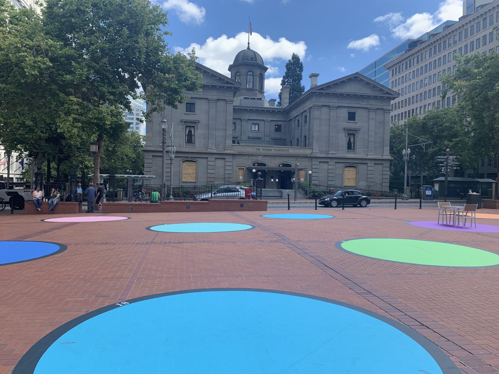 Larissa Birdseye at Polka Dot Courthouse Square