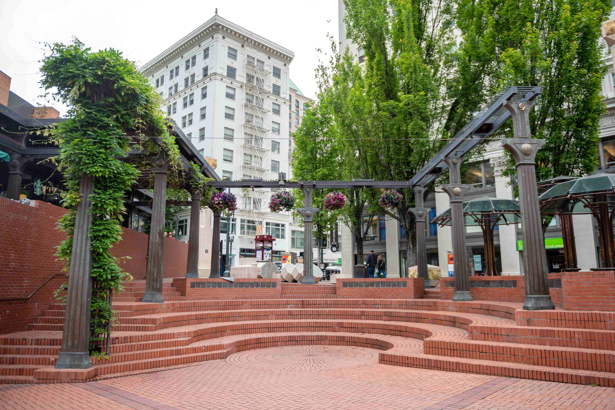 Pioneer Courthouse Square Park Updates